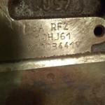 ДВС RFZ на Пежо 605 1993 г. отгружен в г. Караганда через ТК КИТ (экспедиторская расписка № МИНКГД0012623507)